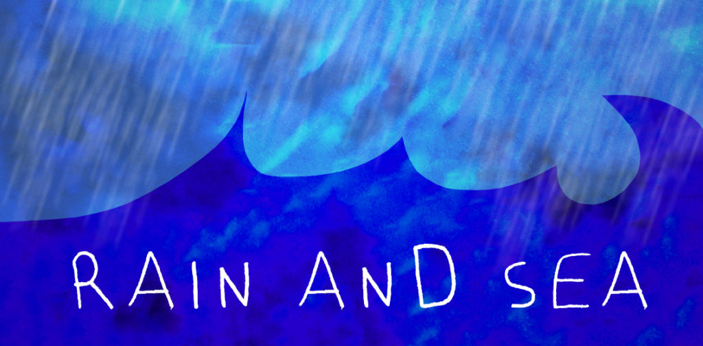 Yohaku Art Collective organizes a new online meetup from the series Monthly Dialogs with Arts called Rain and Sea.