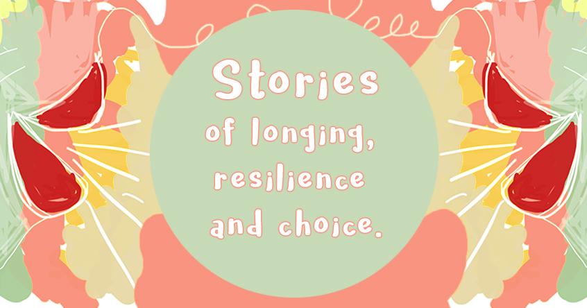 An online expressive arts workshop series focused on storytelling.
